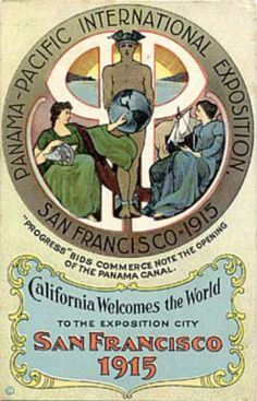 1915 Pan Pacific International Exhibition #sanfrancisco