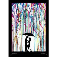 Two Step Print (24-inch x 36-inch) with Contemporary Poster Frame