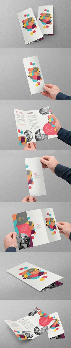 Colorful Kids Circles Trifold. Download here: http://graphicriver.net/item/colorful-kids-circles-trifold/12752238?ref=abradesign