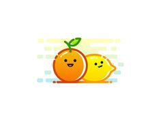 Orange and Lemon Illustration by Ariev Soeharto