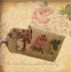 glenda's World : Play Note Card and Envelope