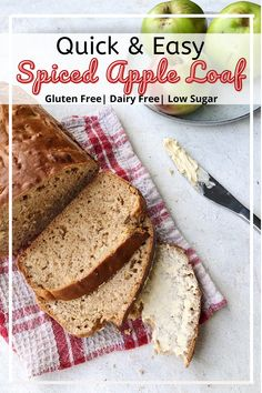 Soft and fluffy this sweet apple spiced loaf is packed full with juicy homegrown apples and warming spices. Perfect way to kick start Autumn.