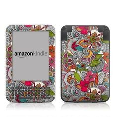 Doodles Color Amazon Kindle Keyboard / Keyboard 3G (3rd Gen) E-Book Reader - Matte Satin Coating by MyGift. $16.99. This scratch resistant skin sticker used Matte / Satin Coating which is the standard glossy finish and helps to protect your Kindle Keyboard / Keyboard 3G (3rd Generation - release in July 2010) E-Book Reader while making an impression. Self-adhesive plastic-coated skins cover the front and back surfaces of the Kindle 3rd Generation and are custom cut to perfectl...