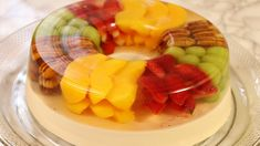 Gelatin Recipes, Jello Recipes, Yogurt Recipes, Gelatina Jello, Jello With Fruit, Jello Cake, Köstliche Desserts, Fruit Art, Fruit Salad