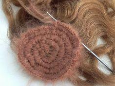 Crochet wig and weft tutorial