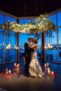 With the feel of a sophisticated New York loft space, The Lighthouse at Chelsea Piers is a unique waterfront venue with sweeping river views of the Hudson River.