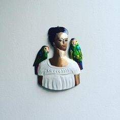 New Frida tin keeping watch at the flat by iamroseblake