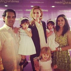 With Niki Taylor at a March of Dimes event raising awareness about Premature Births and fighting for Stronger Healthier Babies.