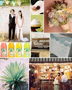 Consider a sweet palette of greens, yellows, pinks, and dusty blues this Cinco de Mayo
