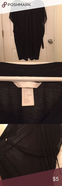 H&M Swim Cover Up Size Small cotton swim suit cover up. Never worn. Will throw in H&M beach hat for free. H&M Swim Coverups