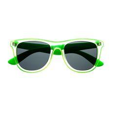 5452beb7a3 Clear Transparent Neon Wayfarer Sunglasses Shades W91 Pink Sunglasses