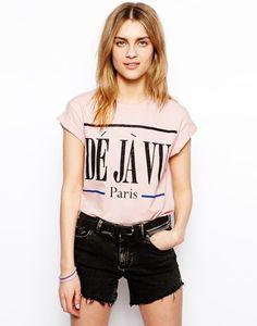 ASOS T-Shirt with Deja Vu Print
