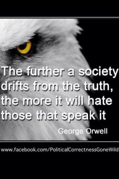 Well said George, well said.