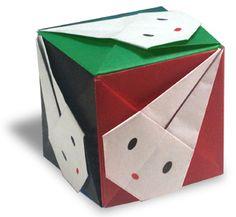Origami Rabbit Cube2 instruction