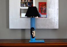 Spock Star Trek Handcrafted handpainted by QrtosCreations Wooden Table Lamps, Spock, Special People, Star Trek, Hand Painted, Trending Outfits, Stars, Unique Jewelry, Handmade Gifts