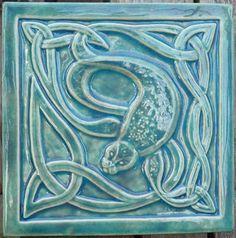 Earth Song Ceramic Tiles, celtic tile