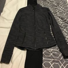 Lululemon jacket I love this jacket but it is little bit tight on me. I am looking for size 4 exchange only. lululemon athletica Jackets & Coats