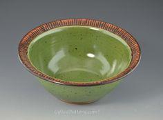 Handmade Pottery Small Bowls, 4 colors | GiftedPottery.com