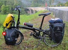 Los extras que montaremos en las Tern Link P24h | Viajar en bicicleta