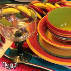 Cinco de Mayo Celebration #tablescape #party #cinco #mexican #fiesta Magical Giggles