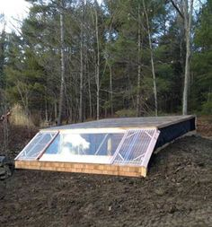 How To Build an Earth Sheltered Greenhouse - All Natural & Good