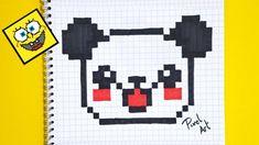Pixel Art Comment Dessiner Un PANDA KAWAII YouTube Avec Pixel Art Facile Et Rapide Idees Et Maxresdefault Avec 1280x720px