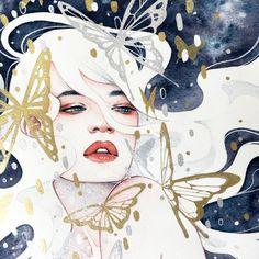WE ARE STARS • kelogsloops: metallic butterflies and flecks of...