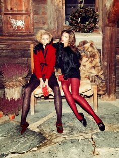 merry christmas: sanna, valentina and alexander by andrea olivo for vanity fair italia 27th december 2013 | visual optimism; fashion editorials, shows, campaigns & more!