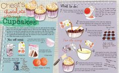 Recipe illustration style