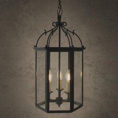 Charlecote Glass Lantern | Victorian Inspired Lighting | Jim Lawrence