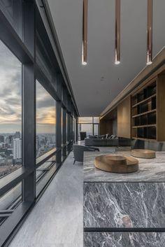 Modern Home Decor Tips For A Beautiful Living Space Luxury Homes Interior, Luxury Home Decor, Modern Interior Design, Interior Architecture, Inspiration Design, Cool Apartments, Home Decor Bedroom, Planer, House Design