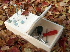 // liepsch.: // diy-weihnachtsgeschenk für kleine handwerker: karl's kiste.