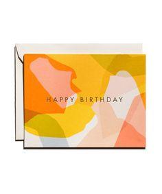 Modern Birthday Card