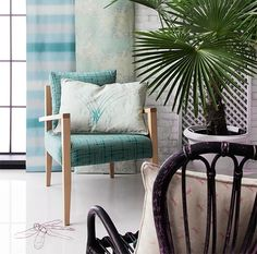 Interior Fabrics, Upholstery & Wallpapers by Barker and Barker