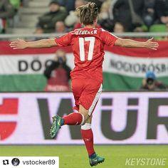 #Repost @vstocker89  Was für eine Schlussminute  Sehr glücklich über den Sieg und meinen Treffer!  #Jubel #happy #win #lastminute #wichtig #RoadToRussia #HUNSUI