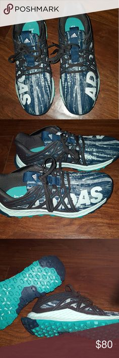 BRAND NWOT ADIDAS Running shoes! Brand new, great for working out or running! Super cool look! Adidas Shoes Sneakers