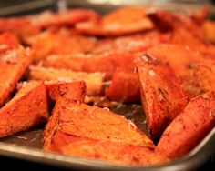 Baked Sweet Potato Fries with Parmesan and Cinnamon