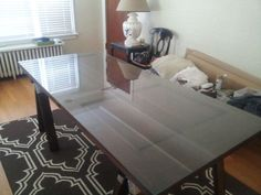 Wood Door Dining Table (custom handcrafted) - $250 (Capitol Hill)