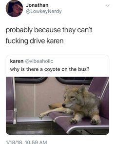 Wth Karen stop being so judgemental