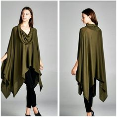 The Autumn Tunic in Olive size osfm The Autumn Tunic in a flawless Olive shade This soft Tunic is one size Material is polyester and spandex  Perfect for Fall Wear with your favorite leggings  No trade  Discount on bundles PRICE FIRM UNLESS BUNDLED  Follow me on Facebook  Sweet-bb Boutique  Tops Tunics