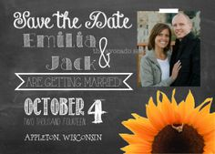 Hey, I found this really awesome Etsy listing at https://www.etsy.com/listing/174419145/chalkboard-chic-wedding-save-the-dates