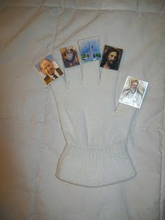 The Testimony Glove. I need to use this idea for a Family Home Evening lesson
