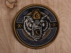 Old Smokey - Embroidered Patch by Derrick Castle