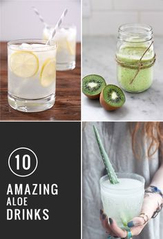 10 Amazing Aloe Drinks | HelloGlow.co