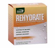 AdvoCare Rehydrate™ Peach
