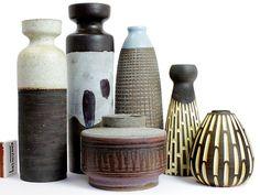 German Modernist Studio Ceramics