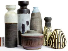 German Modernist Studio Ceramics
