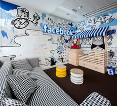 Facebook office by Madama, Warsaw – Poland
