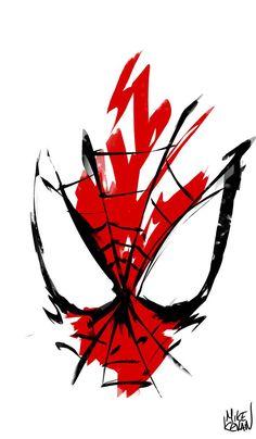 unique Spiderman tat in memory of Xander.Spiderman Xavi's Superhero - Visit to grab an amazing super hero shirt now on sale! Spiderman Tattoo, Spiderman Kunst, Spiderman Sketches, Spiderman Poster, Spiderman Drawing, Spiderman Marvel, Superman, Marvel Art, Marvel Dc Comics