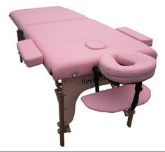 Two Fold PINK Portable Treatment Table. $69.00!